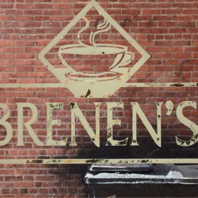 sign outside brenen's coffee cafe